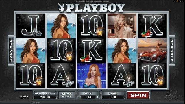 игровой автомат Playboy 3