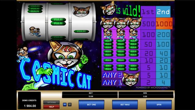 популярный слот Cosmic Cat 7