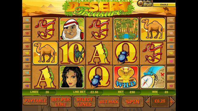 игровой автомат Desert Treasure 1