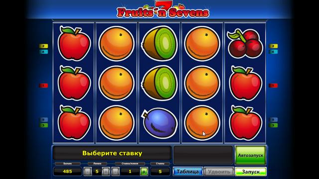 популярный слот Fruits' N Sevens 6