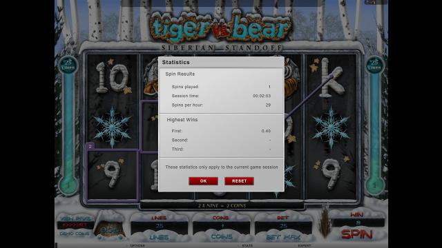 игровой автомат Tiger Vs Bear 3