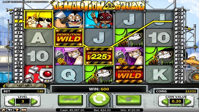 игровой автомат Demolition Squad 7