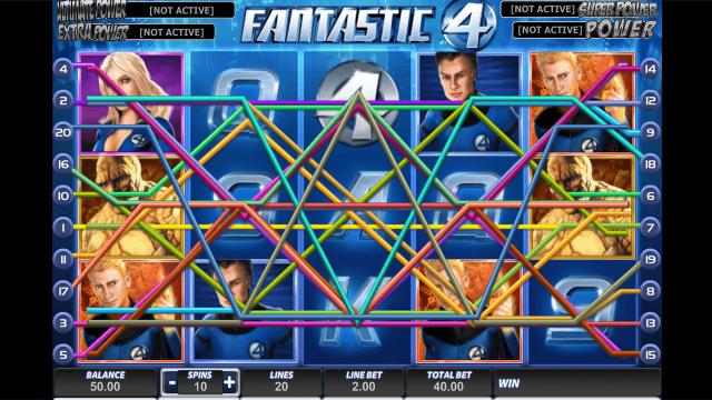 игровой автомат Fantastic Four 1