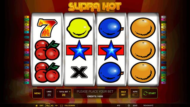 популярный слот Supra Hot 3
