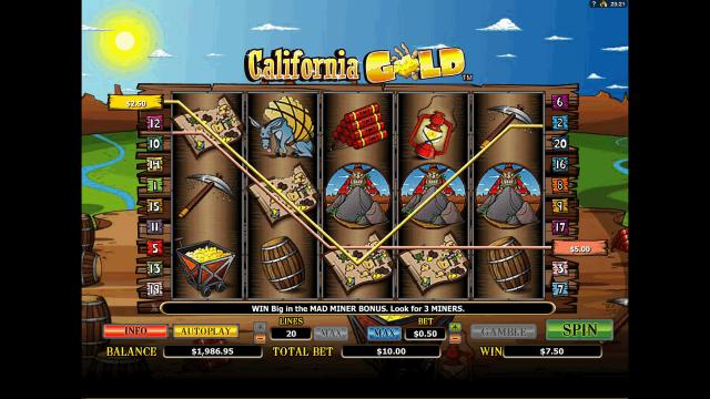 онлайн аппарат California Gold 7