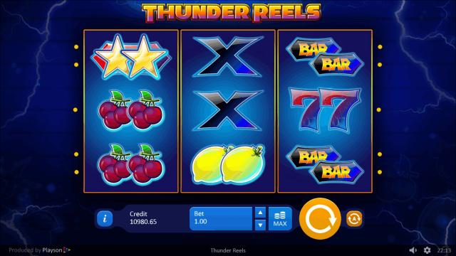 игровой автомат Thunder Reels 3