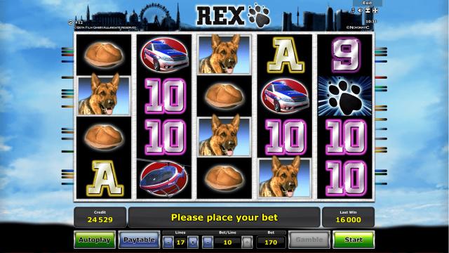игровой автомат Rex 7