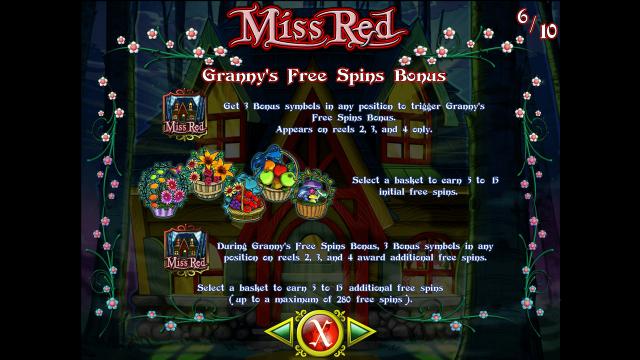 игровой автомат Miss Red 10