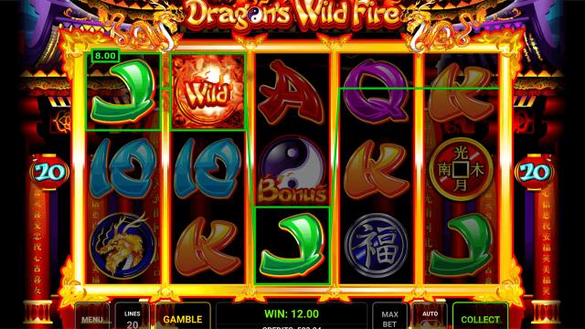 популярный слот Dragon's Wild Fire 10