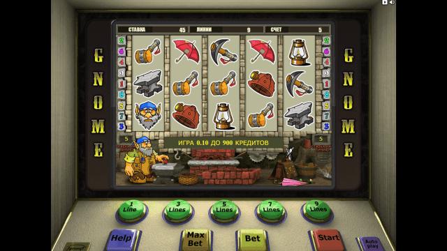 игровой автомат Gnome 1