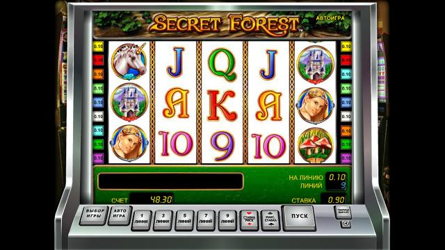 игровой автомат Secret Forest 9
