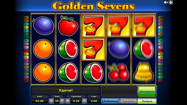 популярный слот Golden Sevens 6