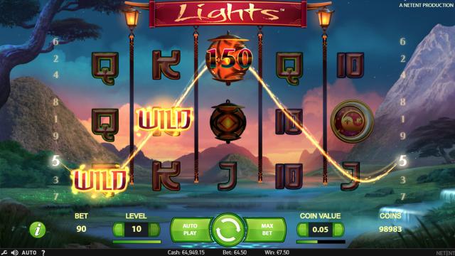 популярный слот Lights 5
