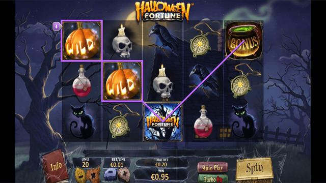 онлайн аппарат Halloween Fortune 8