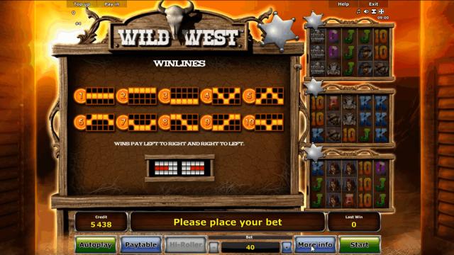 популярный слот Wild West 4