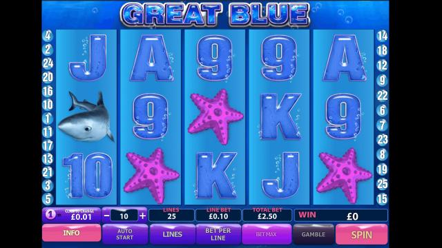 игровой автомат Great Blue 10