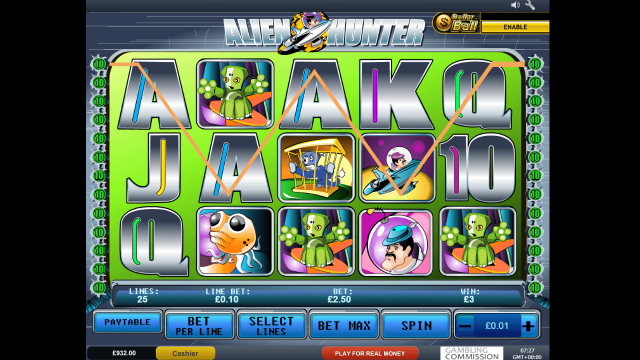 популярный слот Alien Hunter 10