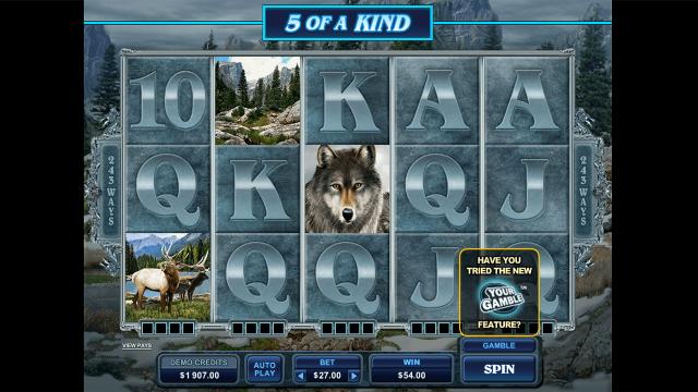 игровой автомат Untamed Wolf Pack 3