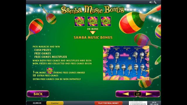 популярный слот Samba Brazil 3