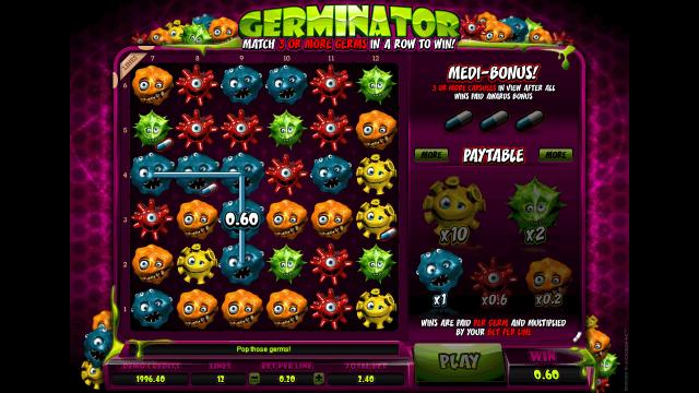 игровой автомат Germinator 4