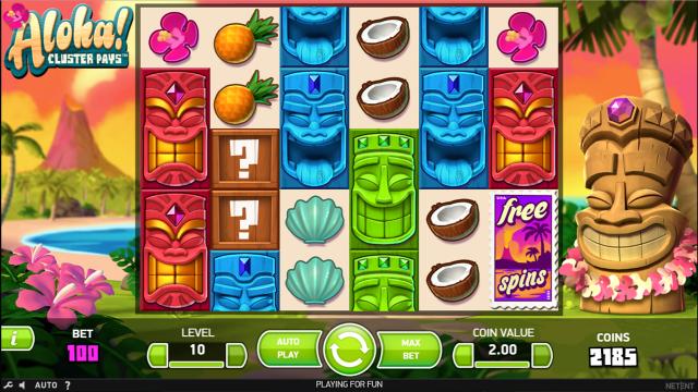 игровой автомат Aloha Cluster Pays 10