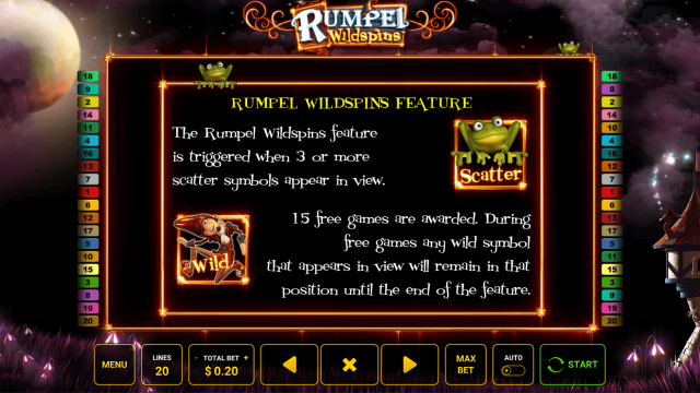 игровой автомат Rumpel Wildspins 2