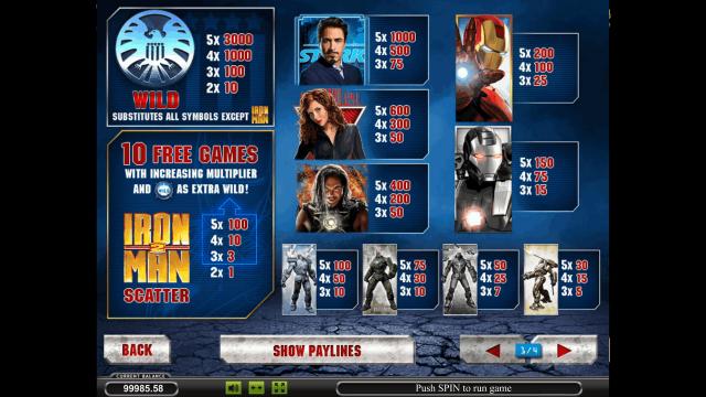 онлайн аппарат Iron Man 2 8