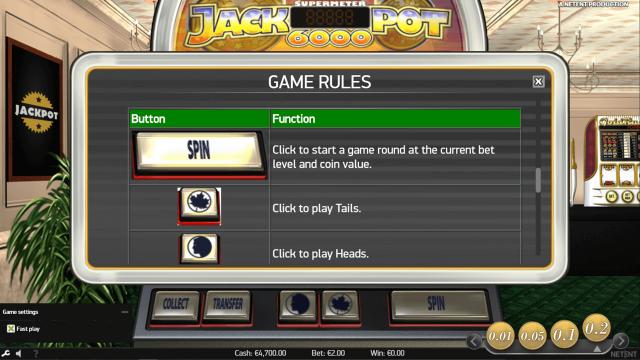 популярный слот Jackpot 6000 3