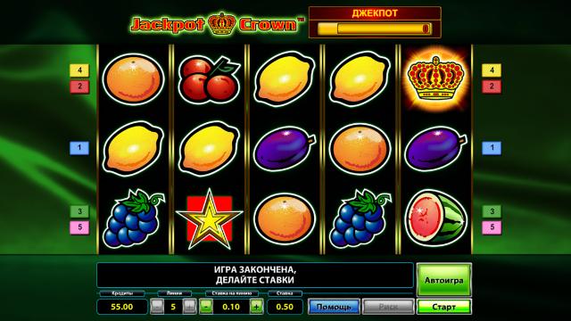 игровой автомат Jackpot Crown 10