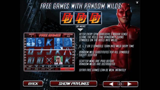 игровой автомат Daredevil 5
