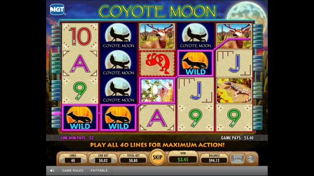 популярный слот Coyote Moon 3