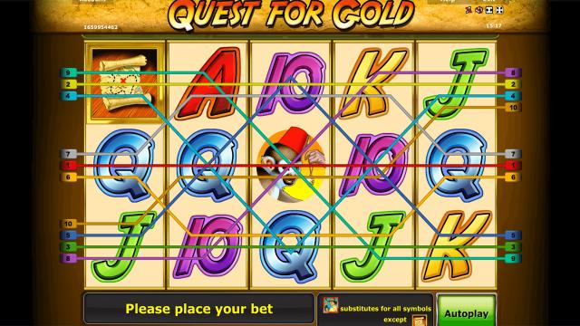 онлайн аппарат Quest For Gold 3