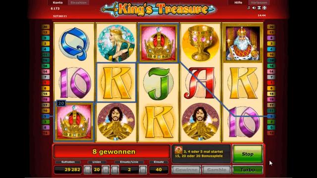 игровой автомат King's Treasure 7