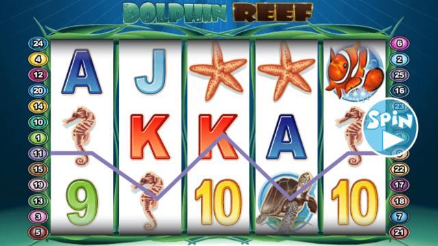 популярный слот Dolphin Reef 9