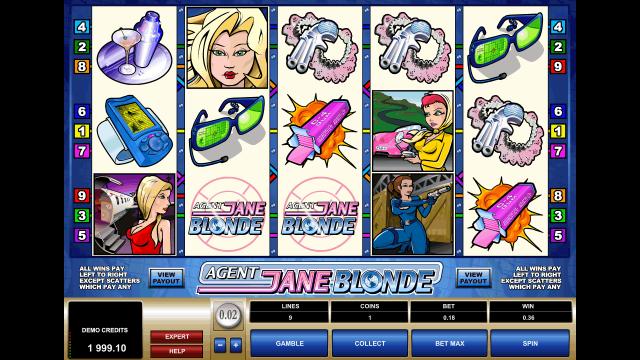 игровой автомат Agent Jane Blonde 2