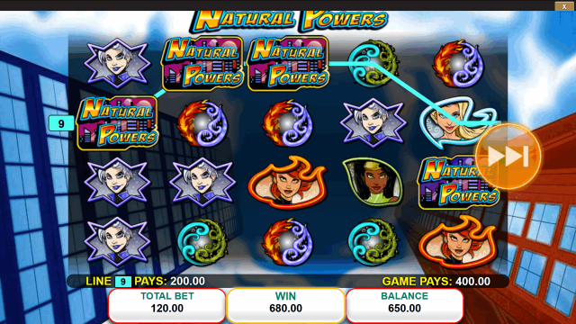игровой автомат Natural Powers 5