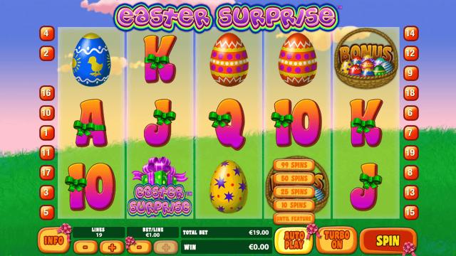игровой автомат Easter Surprise 3
