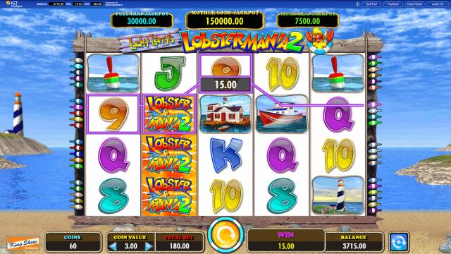 игровой автомат Lucky Larry's Lobstermania 2 9