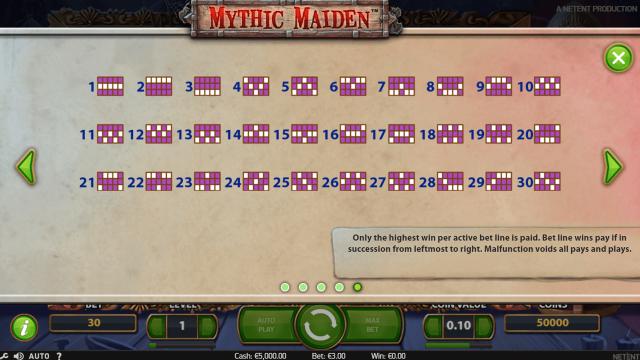 онлайн аппарат Mythic Maiden 5