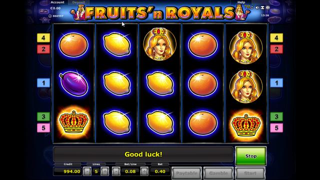 игровой автомат Fruits And Royals 2