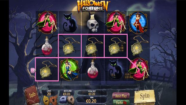 онлайн аппарат Halloween Fortune 10