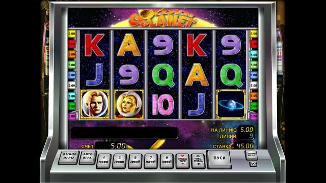 игровой автомат Golden Planet 8