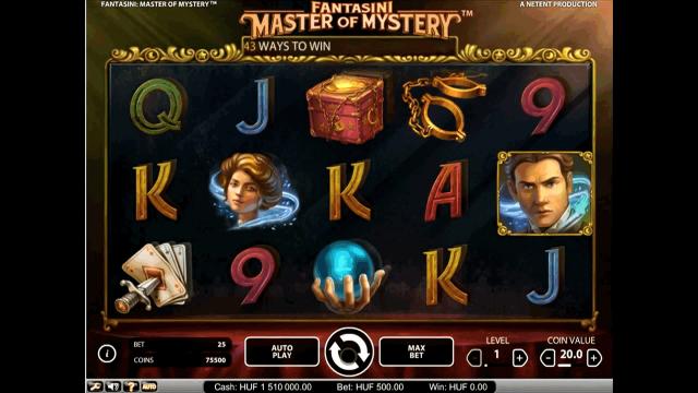 популярный слот Fantasini: Master Of Mystery 1