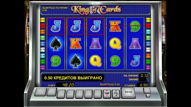 популярный слот King Of Cards 3