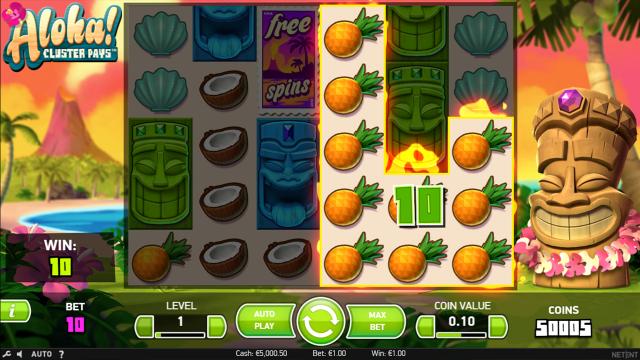 игровой автомат Aloha Cluster Pays 3