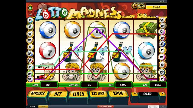 популярный слот Lotto Madness 5