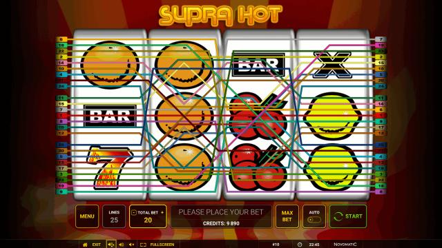 онлайн аппарат Supra Hot 2