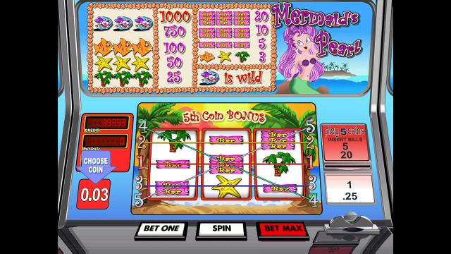 игровой автомат Mermaid's Pearl by Betsoft 1