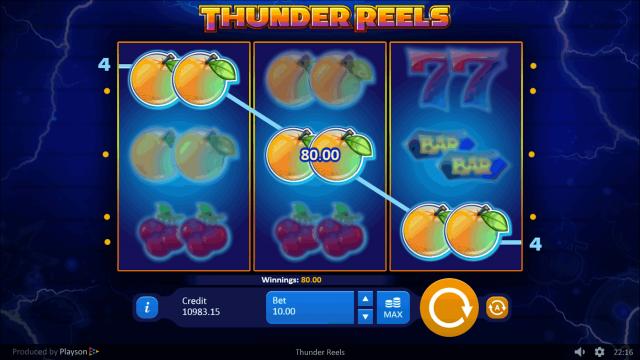 популярный слот Thunder Reels 9