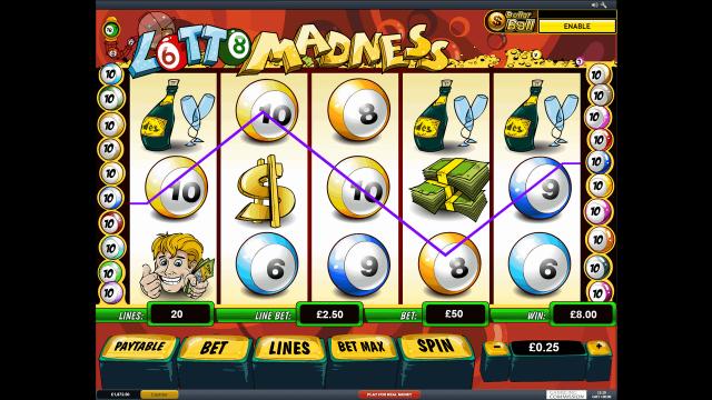 онлайн аппарат Lotto Madness 4
